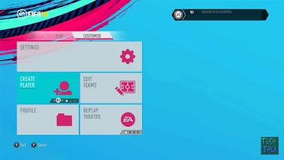 FIFA 14 FIFA 19 Theme Graphic Menu