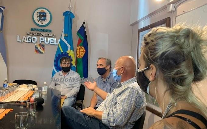 El secretario ejecutivo de la CNRT recorrió la comarca andina