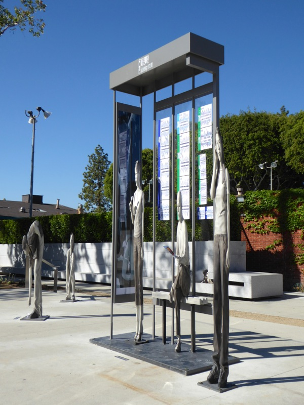 Yi Hwan-Kwon Bus Stop outdoor art