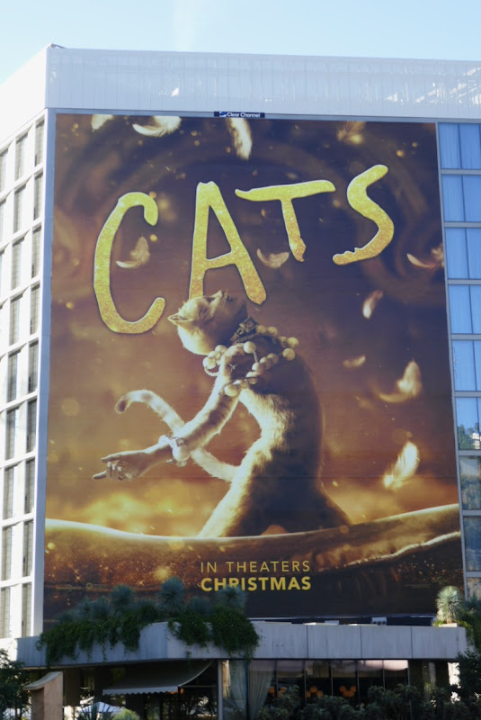 Giant Cats movie billboard