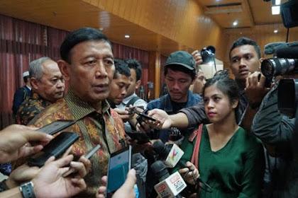 Wiranto Sebut Informasi Makar Didapat dari Media Sosial
