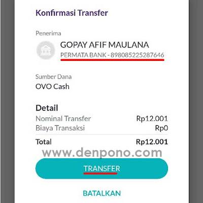 Cara Transfer OVO ke Gopay Gratis Tanpa Biaya Cara Transfer OVO ke Gopay Gratis Tanpa Biaya