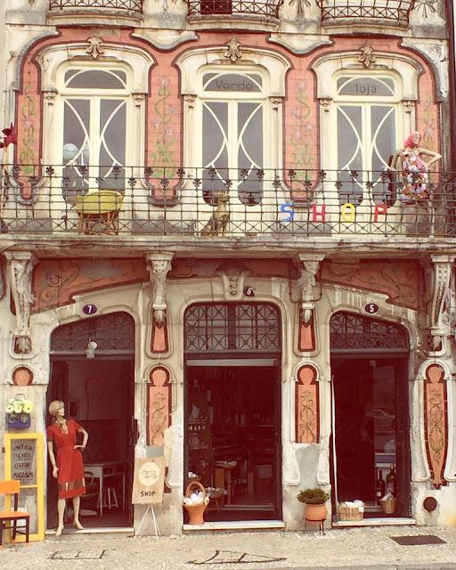 a Porta Verde, loja, shop, tienda, vintage, antigo, Aveiro
