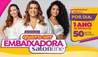 Promoção Salon Line 2019 Nova Embaixadora
