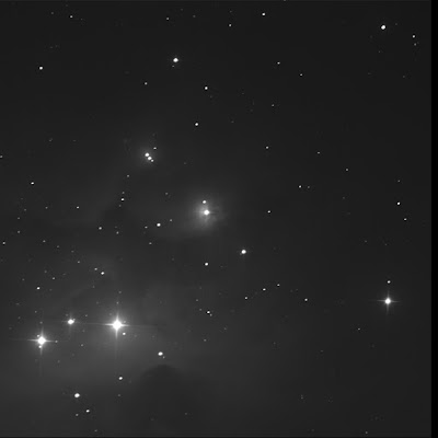 RASC Finest reflection nebula NGC 1973 luminance