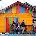 Menikmati Sore Warna Warni di Kampung Wisata Kuantan
