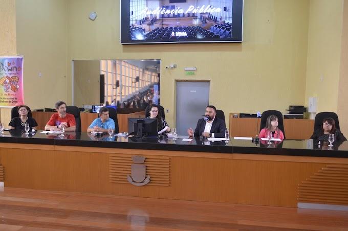 Debate sobre inclusão escolar na Câmara de Gravataí