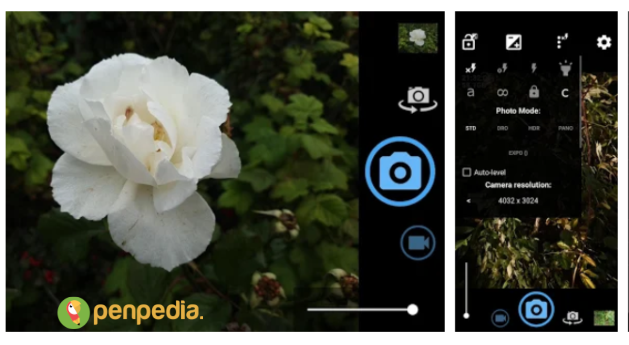 aplikasi kamera android untuk menangkap benda bergerak