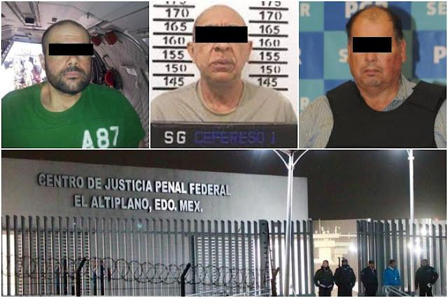 Estos son los capos y líderes de los Cárteles mas famosos que lloran en El Altiplano y claman tortura y hostigamiento