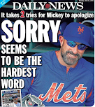 Mets are sorry