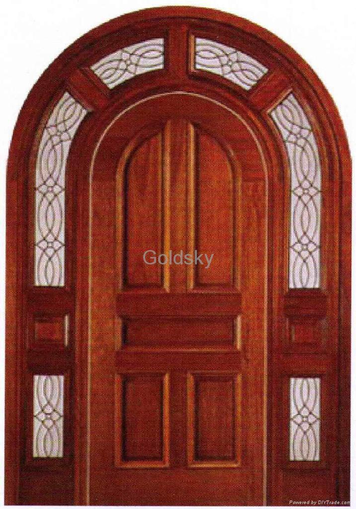 Home Design: The Wooden Door Image Collection