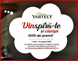 regulament castigatori Concurs Château Vartely Palet cu vinuri Individo 2020