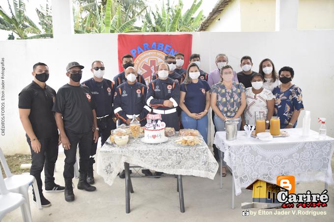 SAMU 192 completa o primeiro ano de atendimentos prestados à população de Cariré-CE