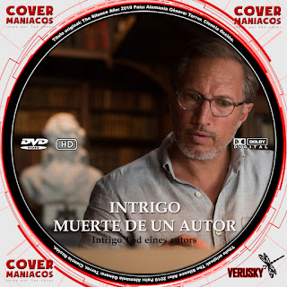 GALLETA INTRIGO MUERTE DE UN AUTOR - INTRIGO TOD EINES AUTORS - DEATH OF AN AUTOR 2018[COVER DVD]