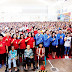 Kandouw dan Tamuntuan Beri Motivasi 4500 PKH se Kota Tomohon