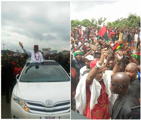 """Nnamdi Kanu fights bail conditions, saying """"I want to attend rallies, grant press interviews"""""""