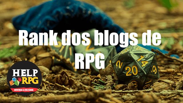 Rank dos blogs de RPG - 2019