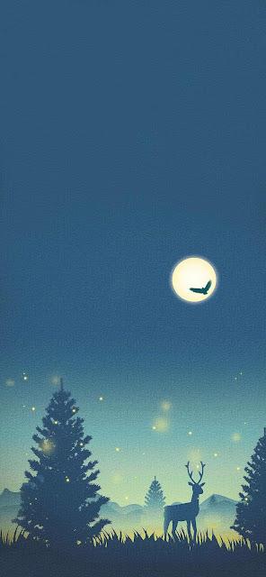 christmas wallpaper iphone cute reindeer background