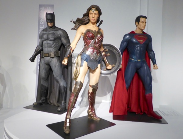 Batman v Superman Dawn of Justice movie costume exhibit