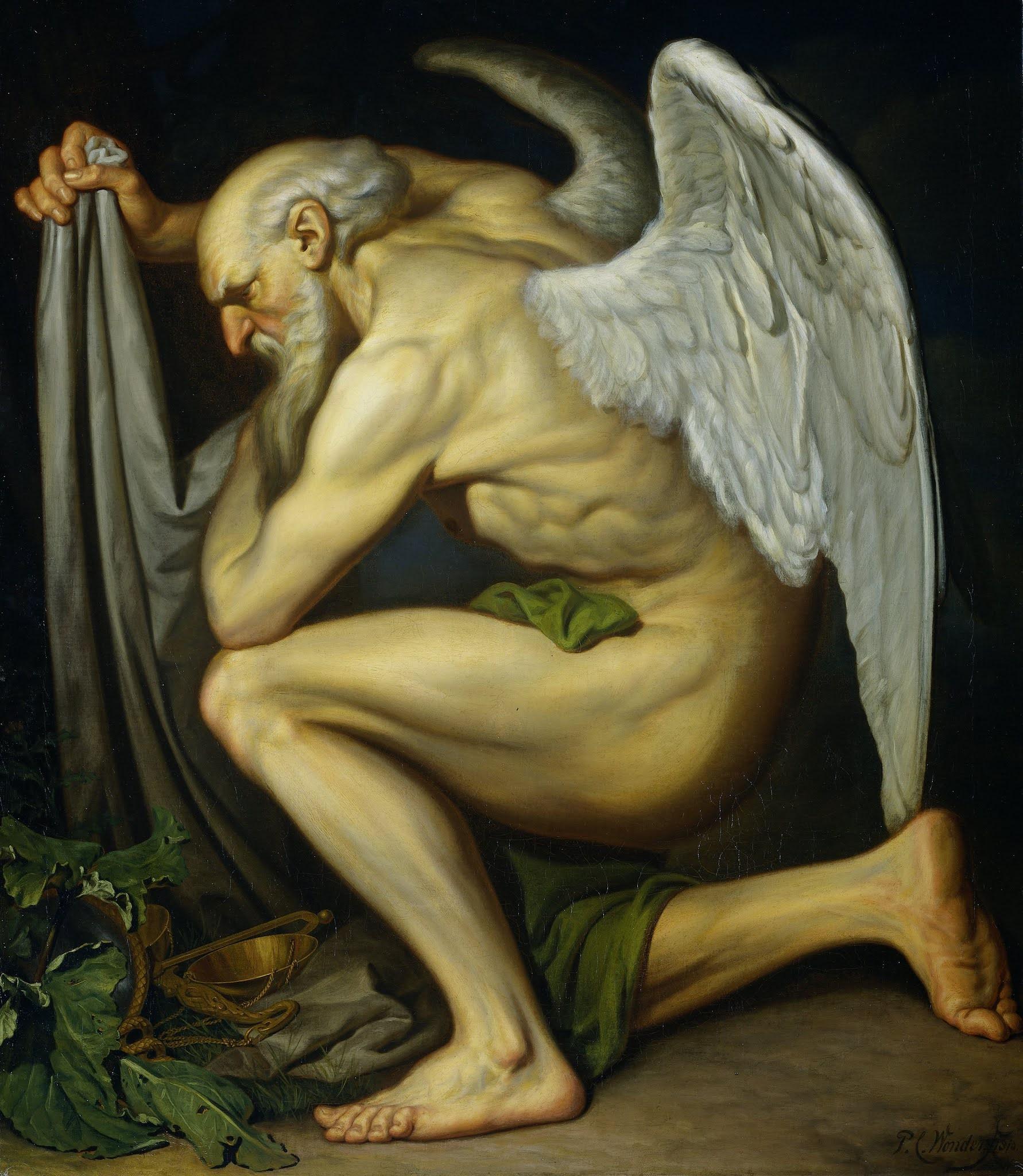ピーテル・クリストッペル・ワンダーの『時の翁』