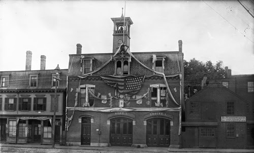 Firehouse on Washington Street, 1891
