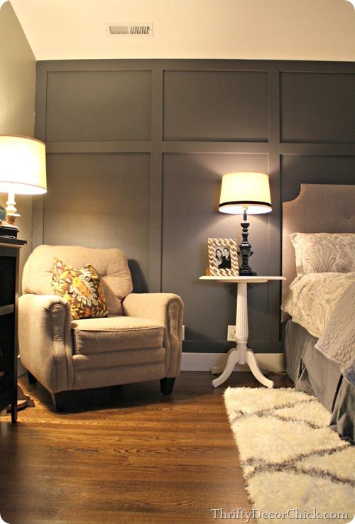 Master Bedroom Wall Treatments The Scrap Shoppe