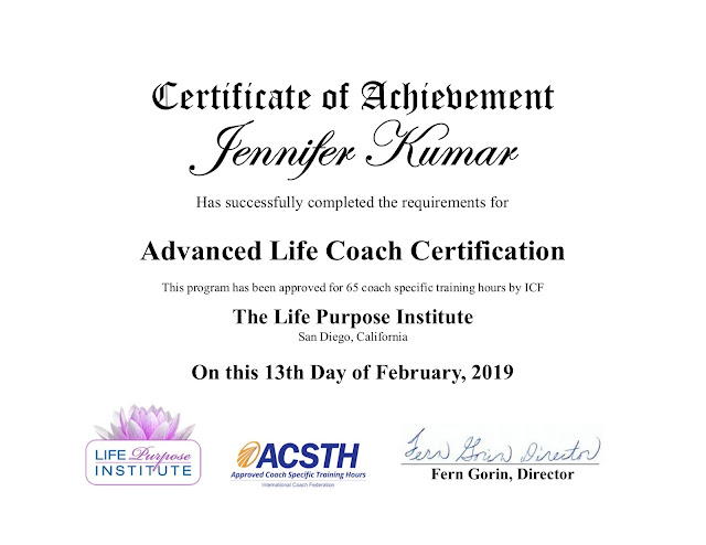 Advanced Life Coaching from Life Purpose Institute