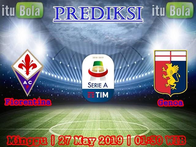 Prediksi Fiorentina Vs Genoa - ituBola
