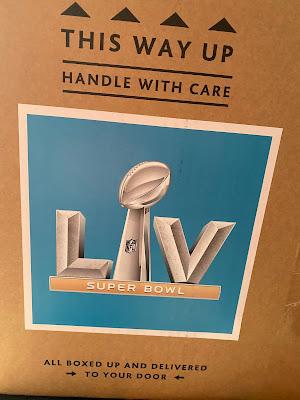 Morrisons Super Bowl LV Food Box