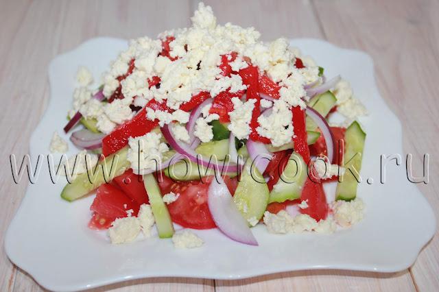 рецепт шопского салата с пошаговыми фото