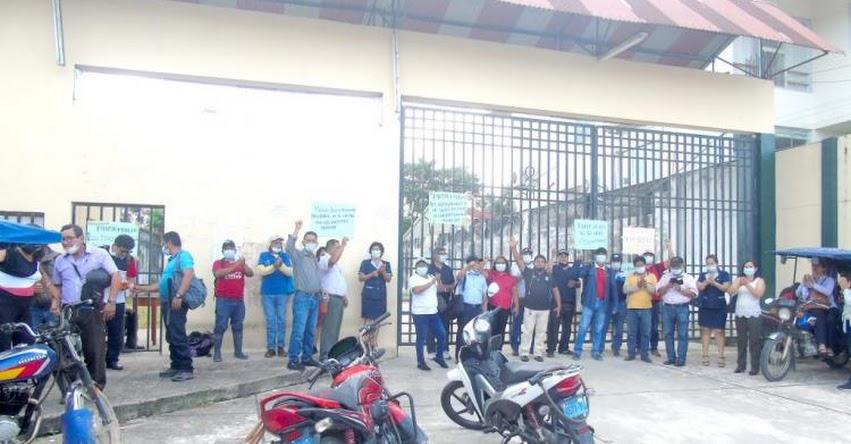 UNAP: Docentes y administrativos de la exigen salida de jefa de OCI, Melissa Moreno, de la Universidad Nacional de la Amazonía Peruana