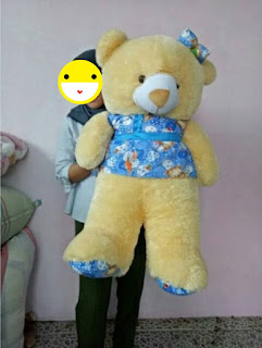 Boneka Teddy Bear Dress
