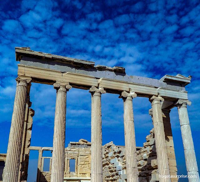 Erectéion,  Acrópole de Atenas, Grécia