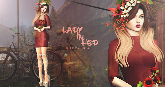 Forever 21: LOTD 380 Lady In Red...