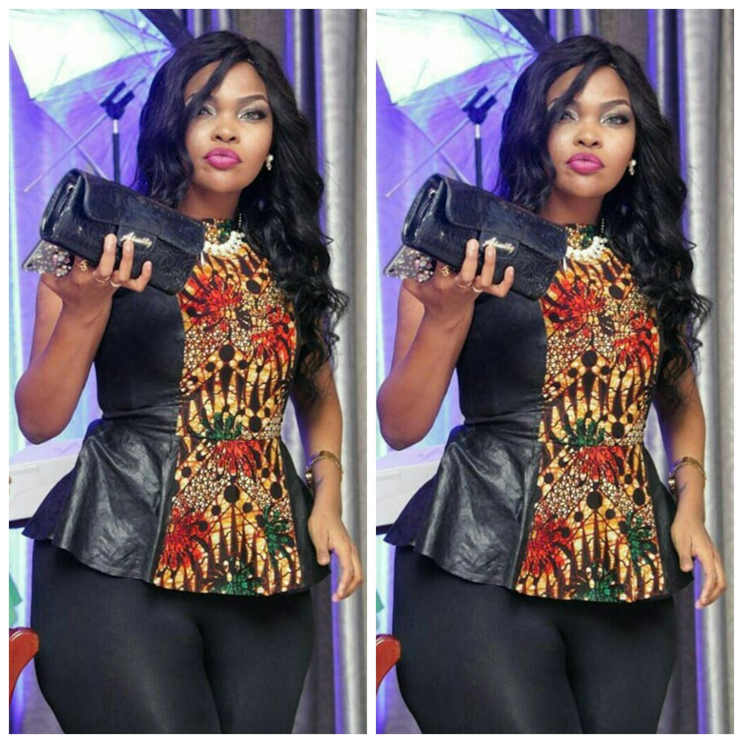 Wema Sepetu Zari Hamisa And Others In Kitenge Style Fashenista