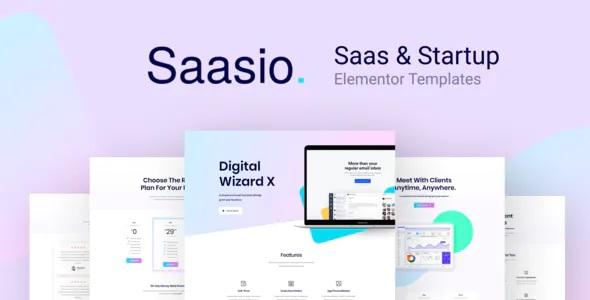 Saas & Startup Elementor Templates