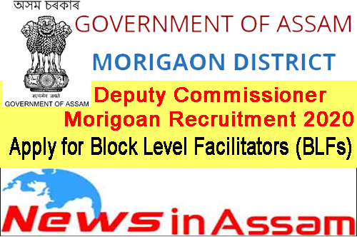 Deputy Commissioner Morigoan Recruitment 2020