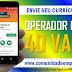 OPERADOR DE LOJA - SUPERMERCADO, 40 VAGAS PARA ATUAR NO RECIFE