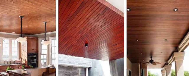 jual plafon kayu solid