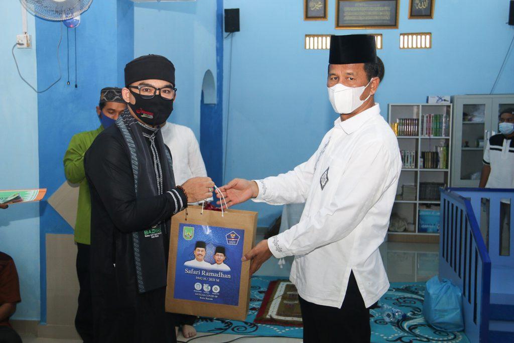 Safari Ramadhan di Masjid Bukhori Muslim, Rudi Langsung Merespon Permintaan Warga