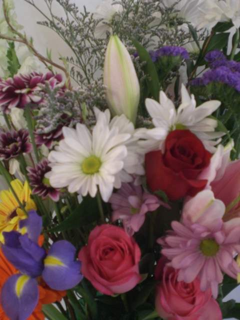 Montreal flower delivery unny fleuriste montreal funeral designers choice bouquet for delivery mightylinksfo