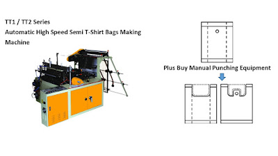 Semi T-Shirt Bags Making Machine