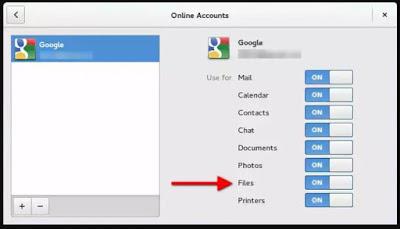 Cara Menggunakan Google Drive Di linux Gnome
