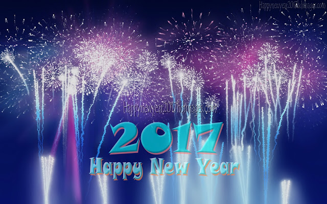 New year 2017 Fireworks HD Photos Download For Desktop/PC