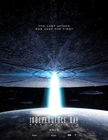 Poster Of Independence Day Resurgence 2016 Dual Audio 720p BRRip ORG [Hindi - English] ESubs Free Download Watch Online downloadhub.net