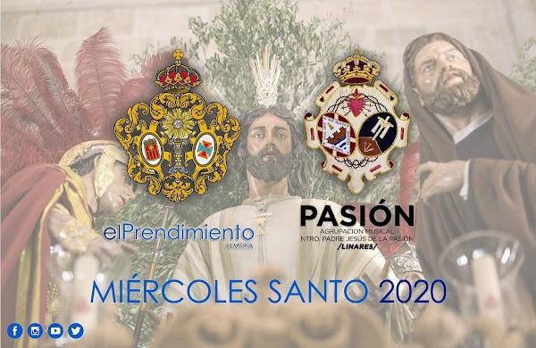 La Agrupación Musical Ntro. Padre Jesús de la Pasión (Linares) renueva su contrato con la hermandad del Prendimiento de Almería para el próximo Miércoles Santo del 2020
