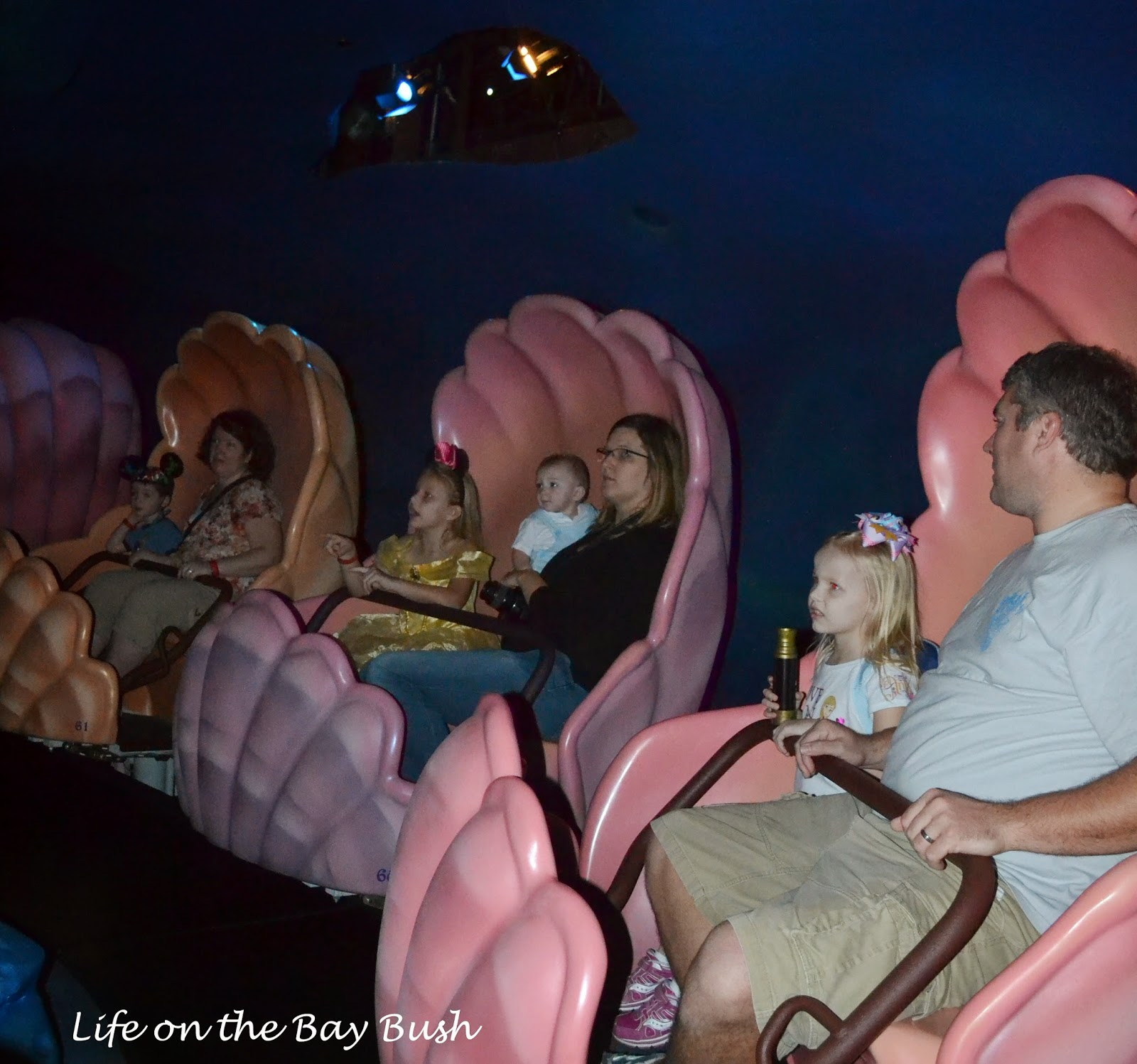 Little Mermaid Ride at the Magic Kingdom