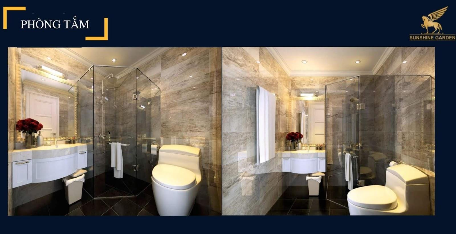 Phòng tắm dự án 34 Vĩnh Tuy