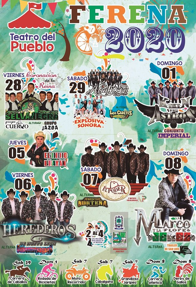 FERENA 2020 Feria EL Naranjo