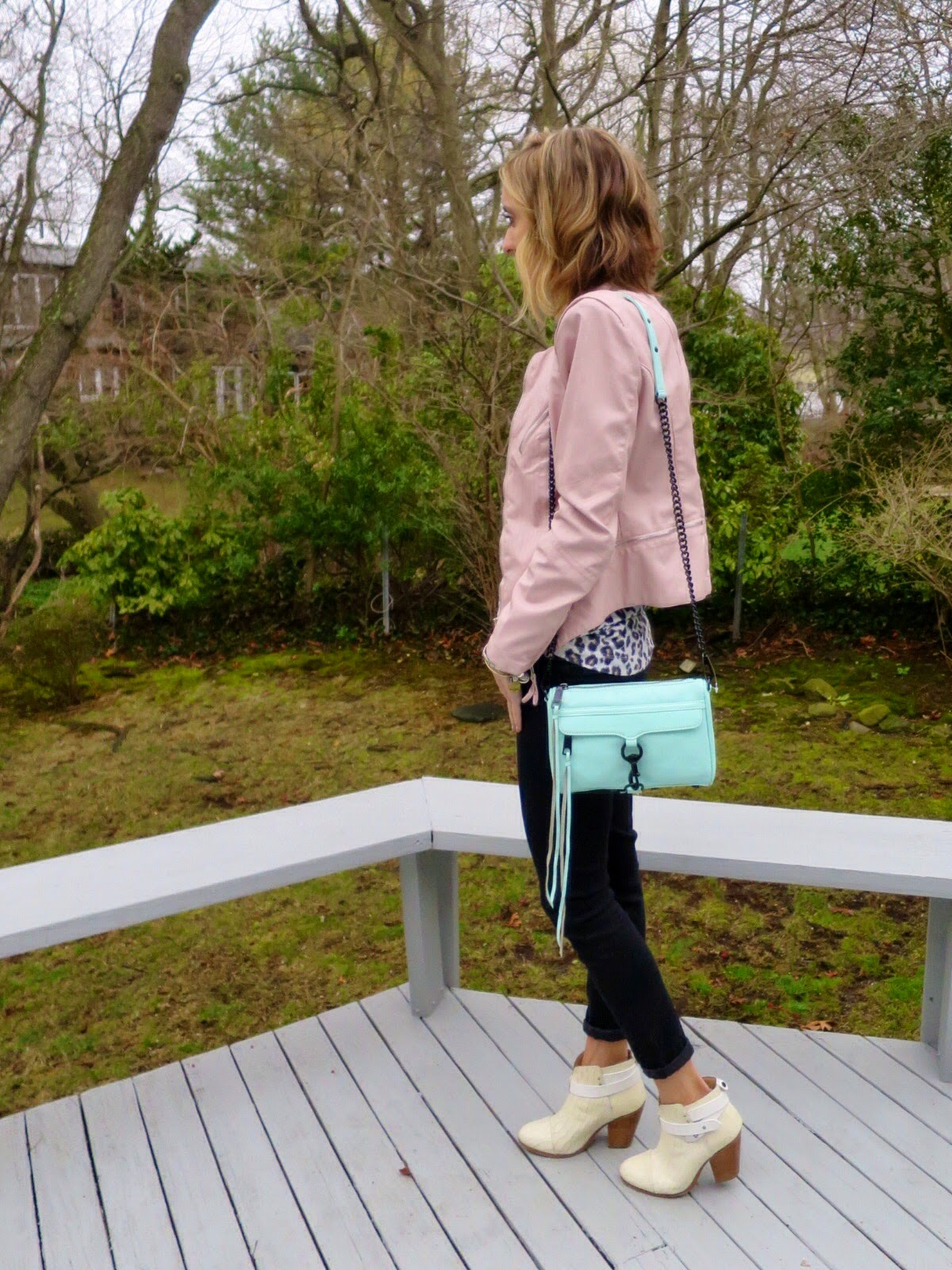 rebecca minkoff mint mini mac bag